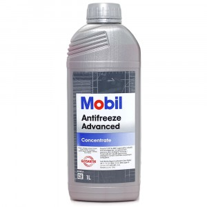 Антифриз Mobil Advanced, красный (1 л)