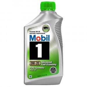 Моторное масло Mobil 1 0W-20 (1 л)