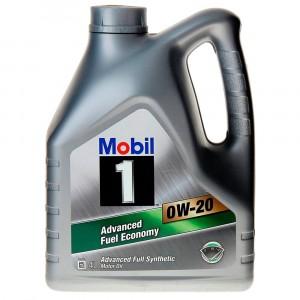 Моторное масло Mobil 1 0W-20 (4 л)