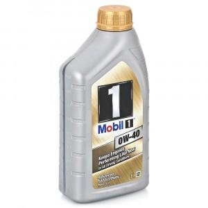 Моторное масло Mobil 1 0W-40 (1 л)