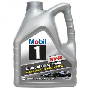 Моторное масло Mobil 1 10W-60 (4 л)
