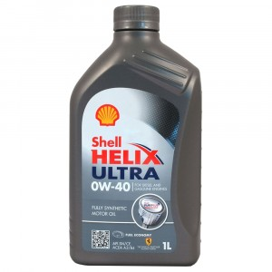 Моторное масло Shell Helix Ultra 0W-40 (1 л)