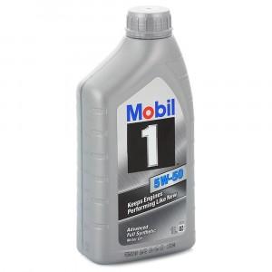 Моторное масло Mobil 1 5W-50 (1 л)
