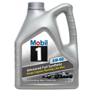 Моторное масло Mobil 1 5W-50 (4 л)