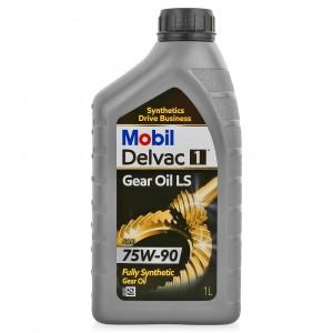 Трансмиссионное масло Mobil Delvac 1 Gear Oil LS 75W-90 (1 л)