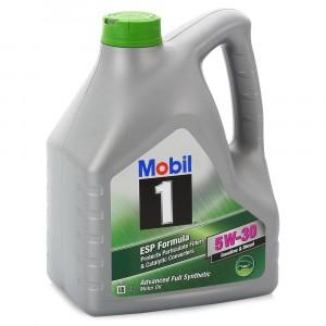 Моторное масло Mobil 1 ESP Formula 5W-30 (4 л)