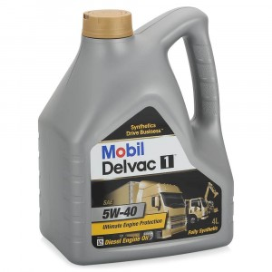 Моторное масло Mobil Delvac 1 5W-40 (4 л)