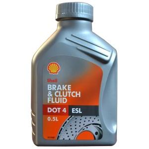 Тормозная жидкость Shell DOT-4 ESL (0,5 л)