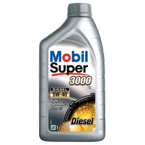 Моторное масло Mobil Super 3000 X1 Diesel 5W-40 (1 л)