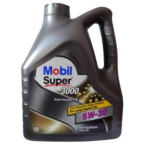 Моторное масло Mobil Super 3000 X1 Formula FE 5W-30 (4 л)