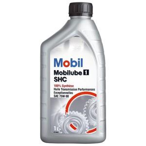 Трансмиссионное масло Mobil Mobilube 1 SHC 75W-90 (1 л)