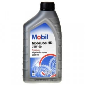 Трансмиссионное масло Mobil Mobilube HD 75W-90 (1 л)