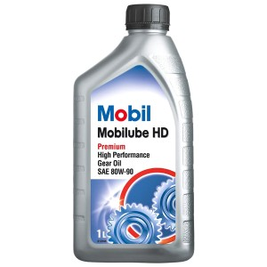 Трансмиссионное масло Mobil Mobilube HD 80W-90 (1 л)