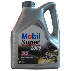 Моторное масло Mobil Super 2000 X1 Diesel 10W-40 (4 л)