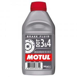 Тормозная жидкость Motul DOT-3/4 (0,5 л)