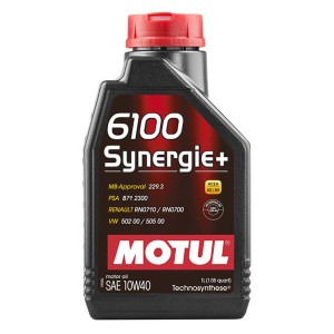 Моторное масло Motul 6100 Synergie+ 10W-40 (1 л)