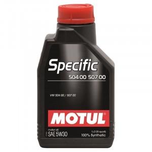 Моторное масло Motul Specific VAG 504.00/507.00 5W-30 (1 л)