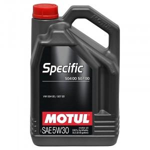 Моторное масло Motul Specific VAG 504.00/507.00 5W-30 (5 л)