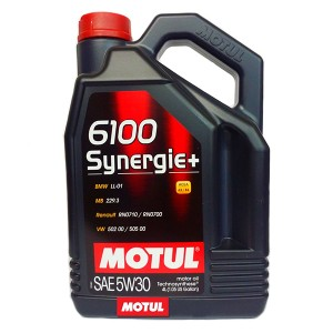 Моторное масло Motul 6100 Synergie+ 5W-30 (4 л)