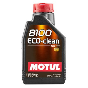 Моторное масло Motul 8100 Eco-clean 0W-30 (1 л)