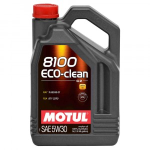Моторное масло Motul 8100 Eco-clean 5W-30 (5 л)