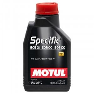 Моторное масло Motul Specific VAG 505.01/502.00/505.00 5W-40 (1 л)