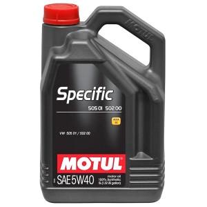 Моторное масло Motul Specific VAG 505.01/502.00/505.00 5W-40 (5 л)