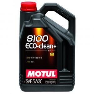 Моторное масло Motul 8100 Eco-clean+ 5W-30 (5 л)