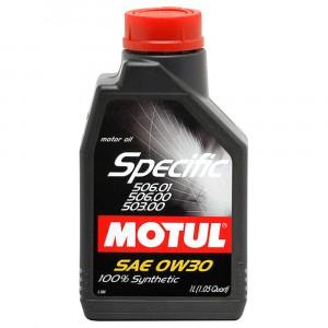 Моторное масло Motul Specific VAG 506.01/506.00/503.00 0W-30 (1 л)