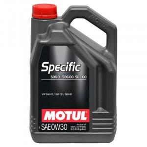 Моторное масло Motul Specific VAG 506.01/506.00/503.00 0W-30 (5 л)