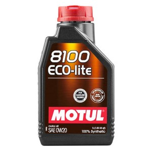 Моторное масло Motul 8100 Eco-lite 0W-20 (1 л)