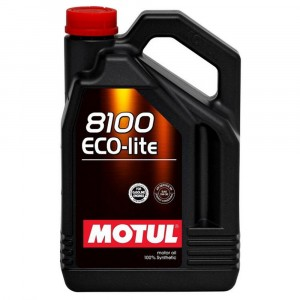 Моторное масло Motul 8100 Eco-lite 0W-20 (5 л)