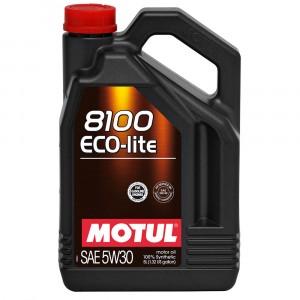 Моторное масло Motul 8100 Eco-lite 5W-30 (5 л)