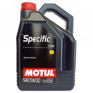 Моторное масло Motul Specific Renault 0720 5W-30 (5 л)