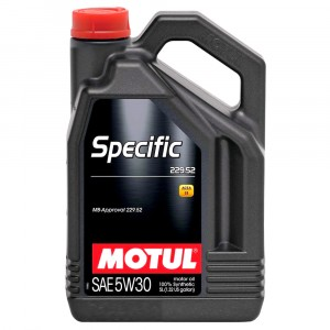 Моторное масло Motul Specific MB 229.52 5W-30 (5 л)