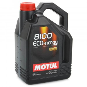 Моторное масло Motul 8100 Eco-nergy 0W-30 (5 л)