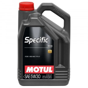 Моторное масло Motul Specific Ford 913-D 5W-30 (5 л)