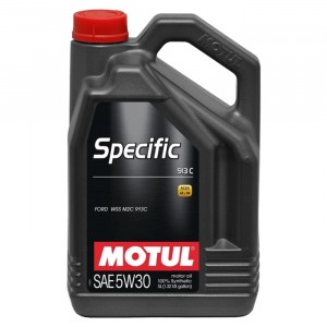 Моторное масло Motul Specific Ford 913-C 5W-30 (5 л)