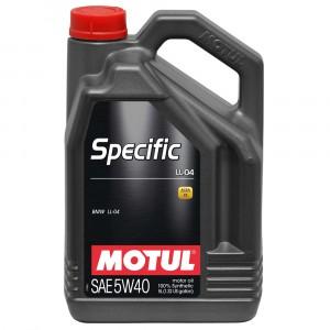 Моторное масло Motul Specific BMW LL-04 5W-40 (5 л)