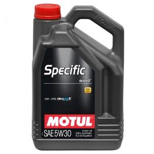 Моторное масло Motul Specific Dexos2 5W-30 (5 л)