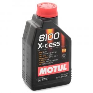 Моторное масло Motul 8100 X-cess 5W-40 (1 л)