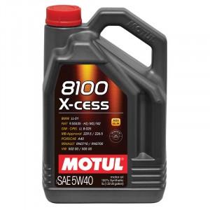 Моторное масло Motul 8100 X-cess 5W-40 (5 л)