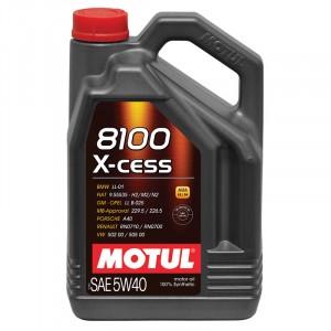 Моторное масло Motul 8100 X-cess 5W-40 (4 л)