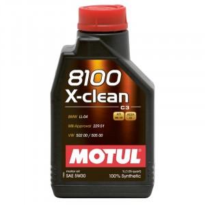 Моторное масло Motul 8100 X-clean 5W-30 (1 л)