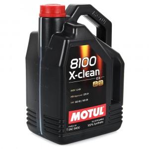 Моторное масло Motul 8100 X-clean 5W-30 (5 л)