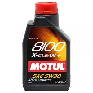 Моторное масло Motul 8100 X-clean+ 5W-30 (1 л)