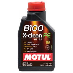 Моторное масло Motul 8100 X-clean FE 5W-30 (1 л)