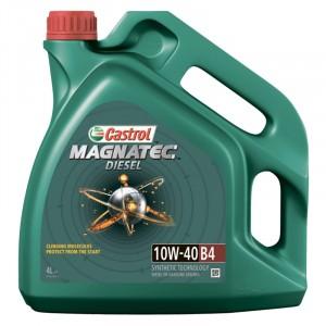 Моторное масло Castrol Magnatec Diesel B4 10W-40 (4 л)
