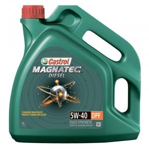 Моторное масло Castrol Magnatec Diesel DPF 5W-40 (4 л)