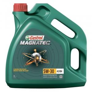 Моторное масло Castrol Magnatec A3/B4 5W-30 (4 л)